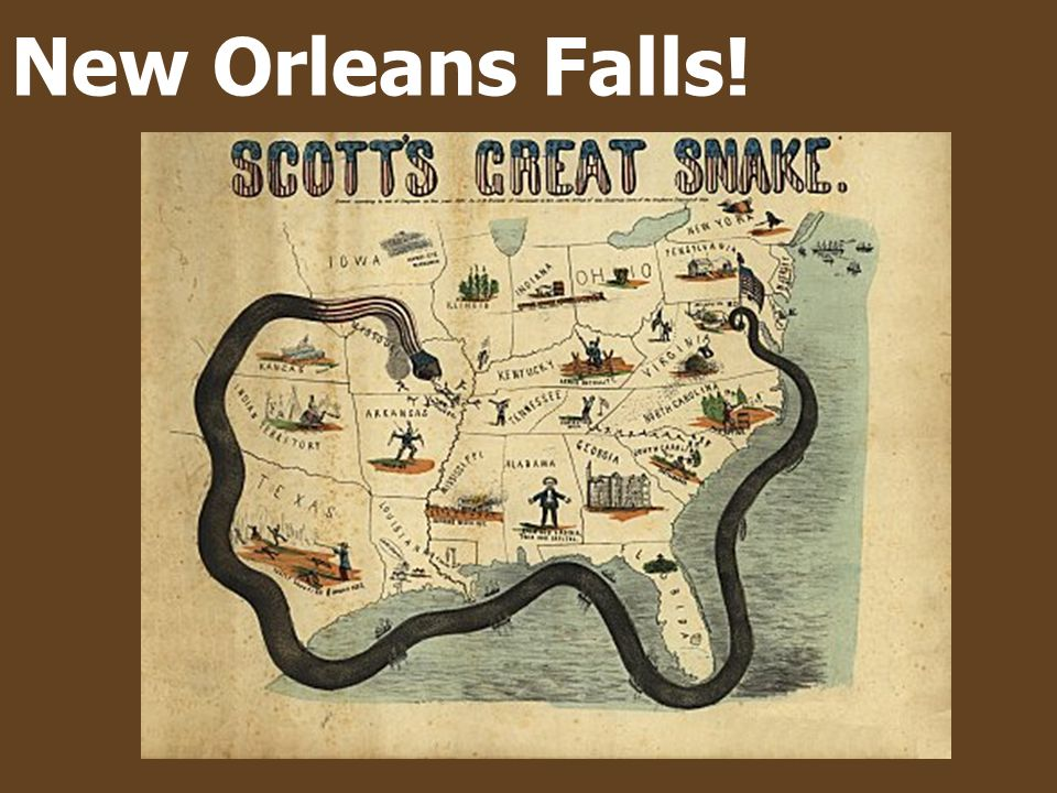 New Orleans Falls!