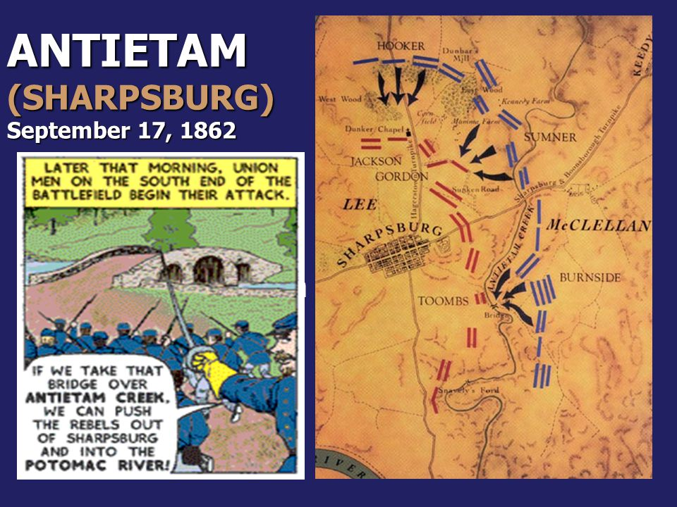 ANTIETAM (SHARPSBURG)