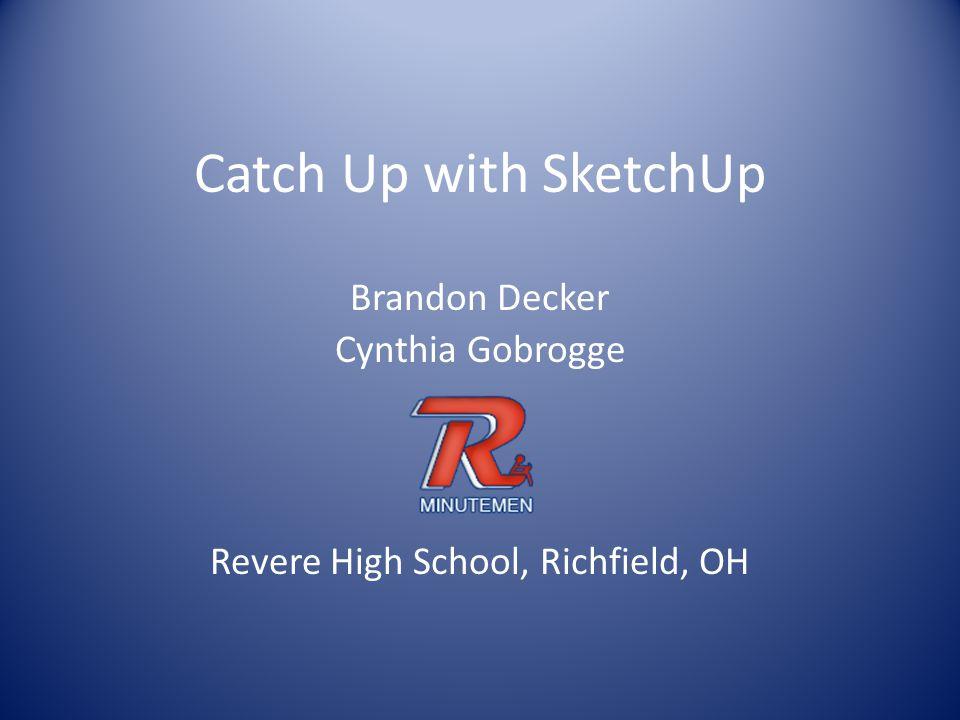 Brandon Decker Cynthia Gobrogge Revere High School, Richfield, OH