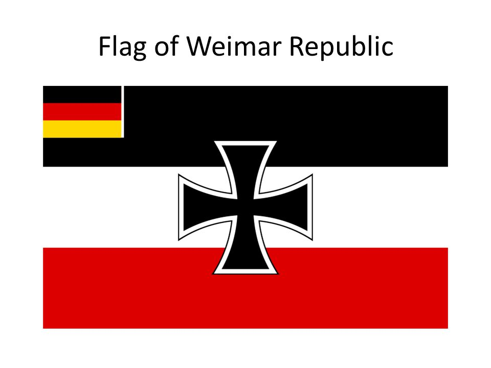Flag of Weimar Republic