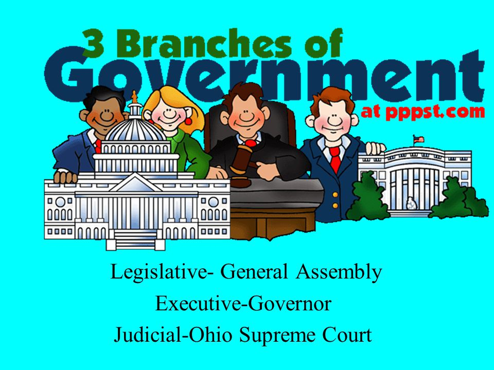 Legislative- General Assembly Executive-Governor