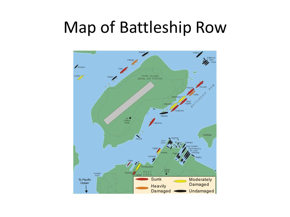 Map of Battleship Row