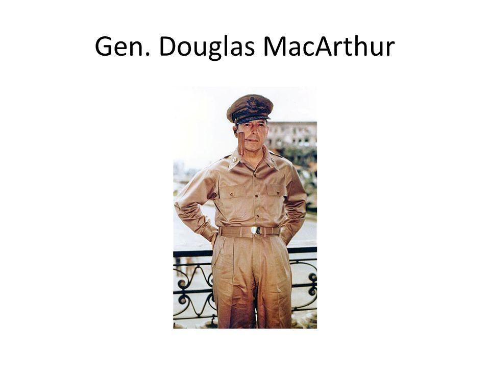Gen. Douglas MacArthur