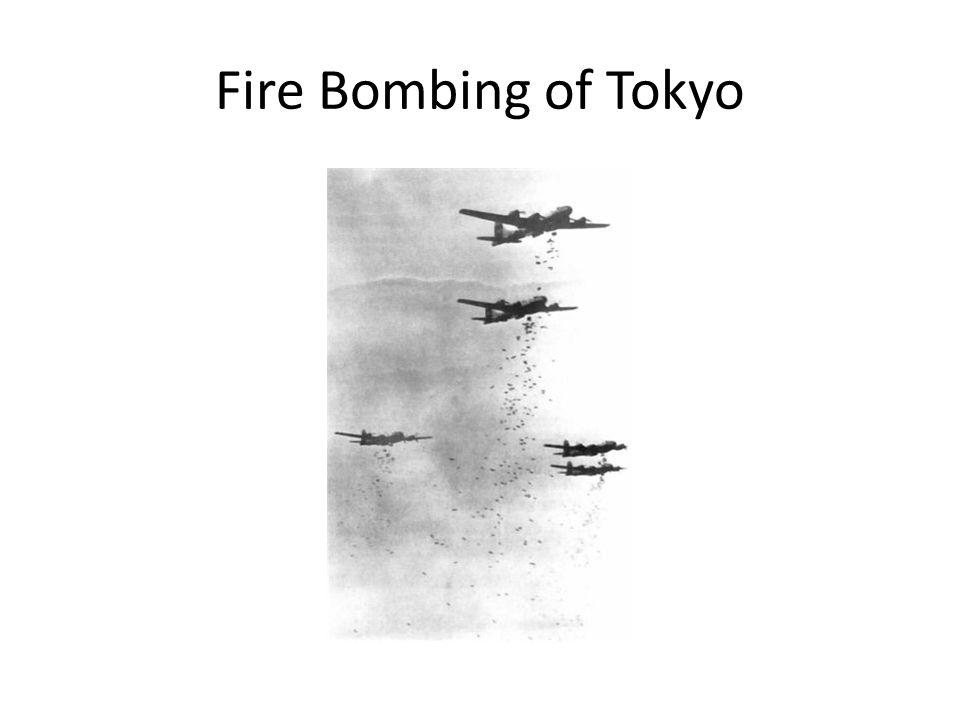 Fire Bombing of Tokyo