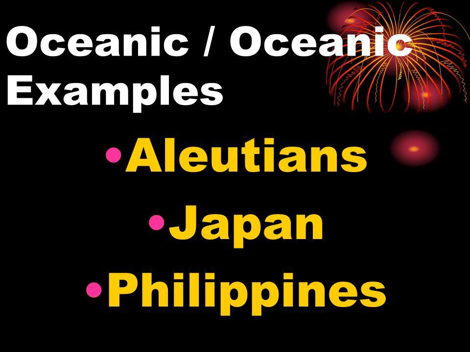 Oceanic / Oceanic Examples