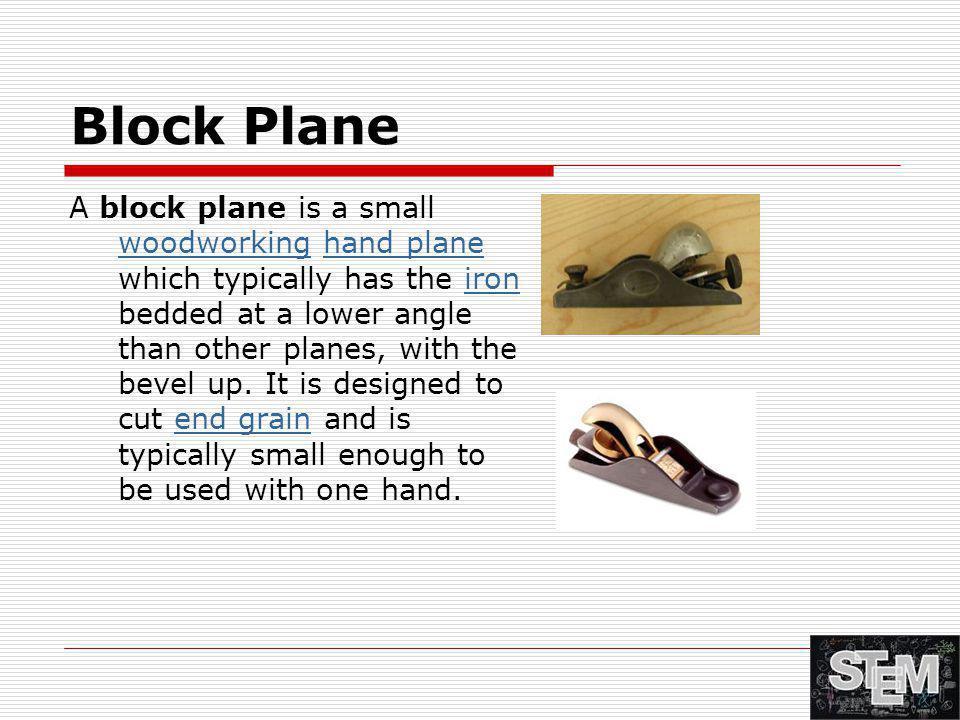 Block Plane