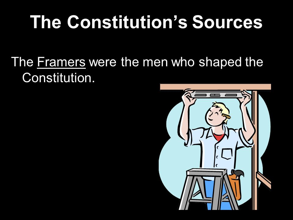 The Constitution's Sources