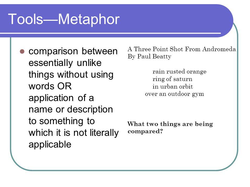 Tools—Metaphor