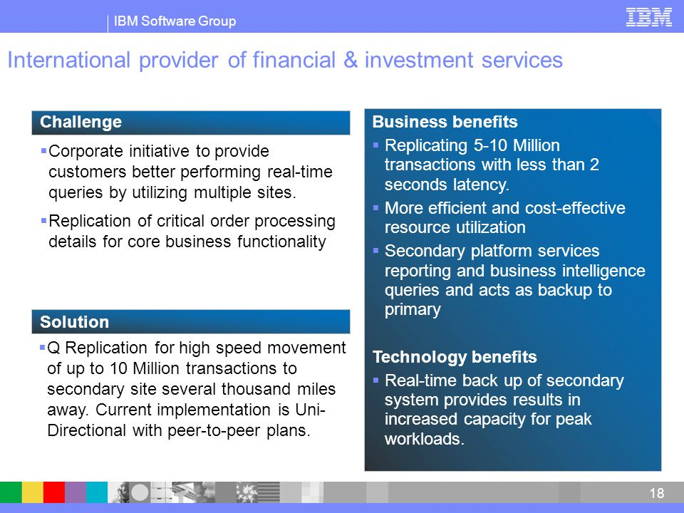 International provider of financial & investment services