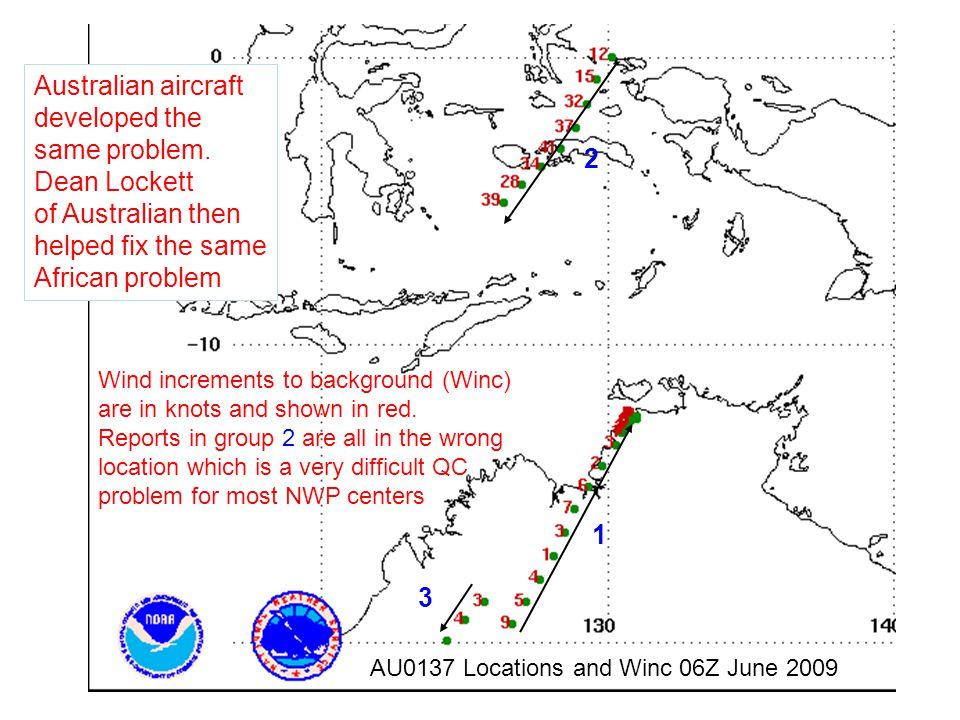 Australian aircraft developed the same problem. Dean Lockett