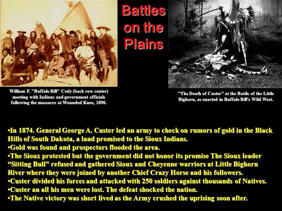 Battles on the Plains