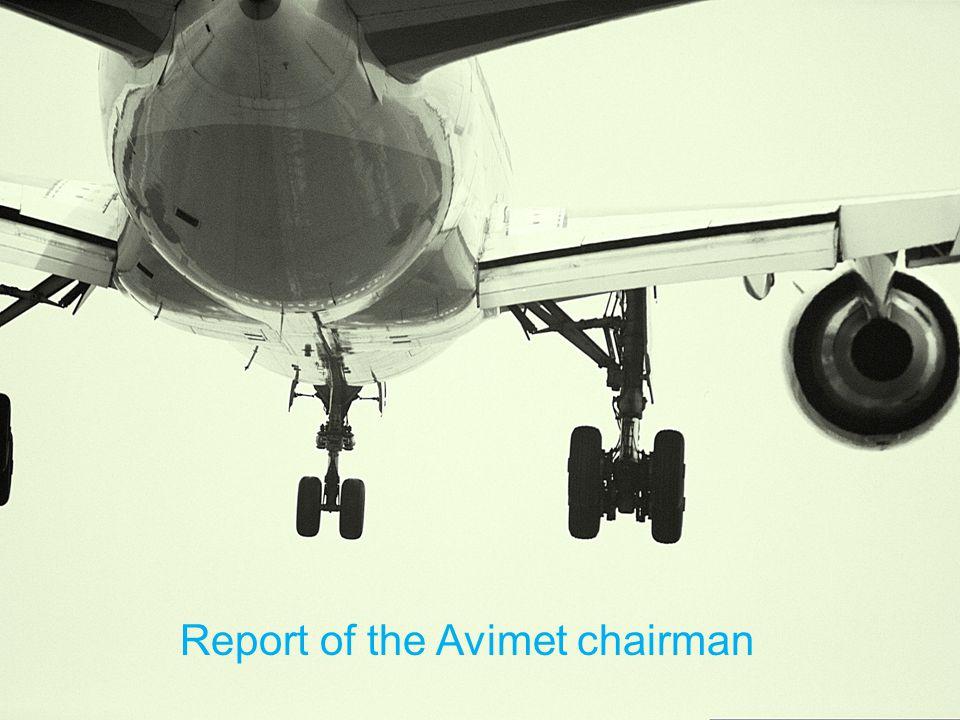 Report of the Avimet chairman