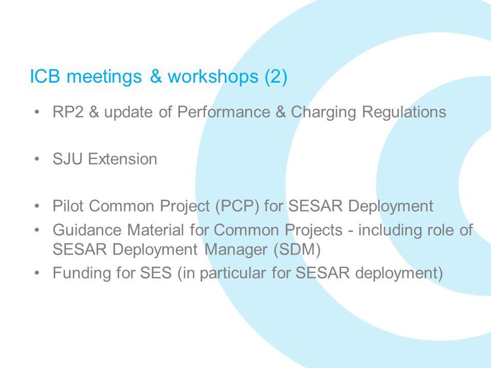 ICB meetings & workshops (2)