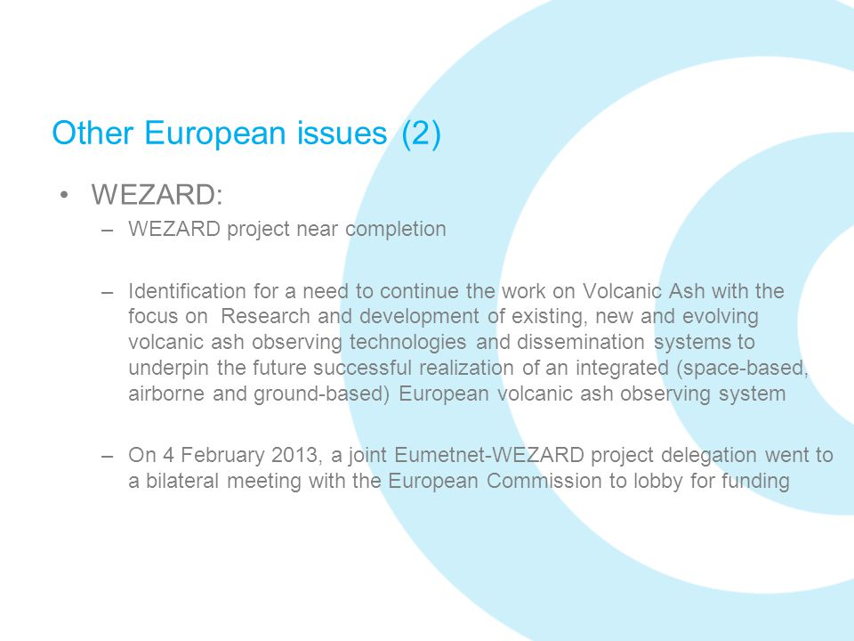 Other European issues (2)