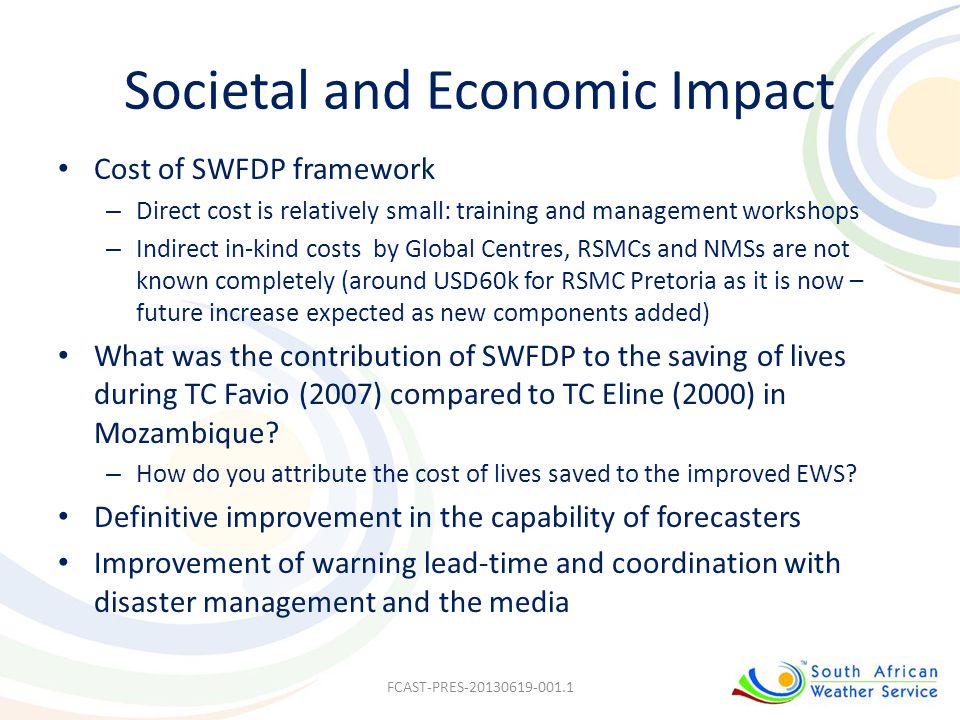 Societal and Economic Impact