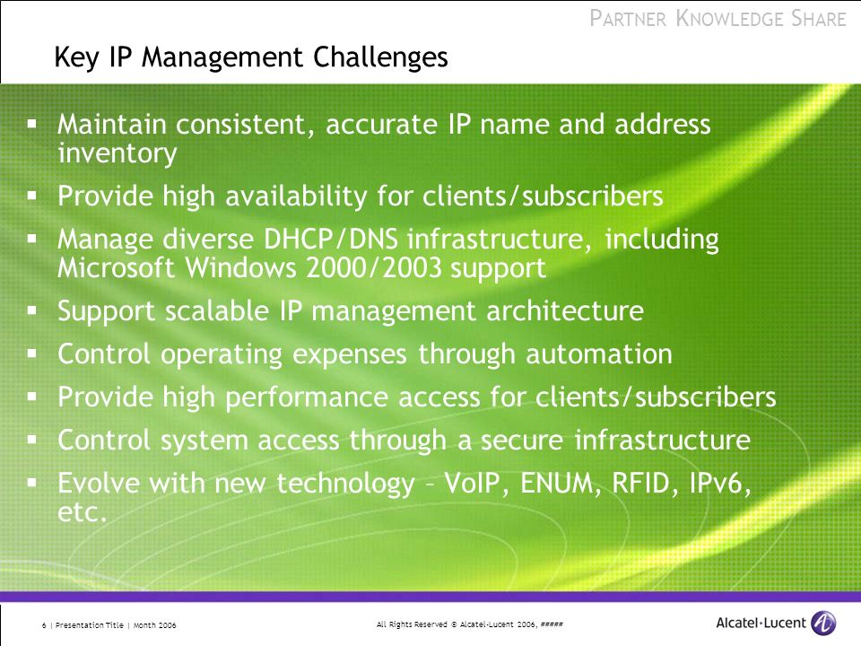 Key IP Management Challenges