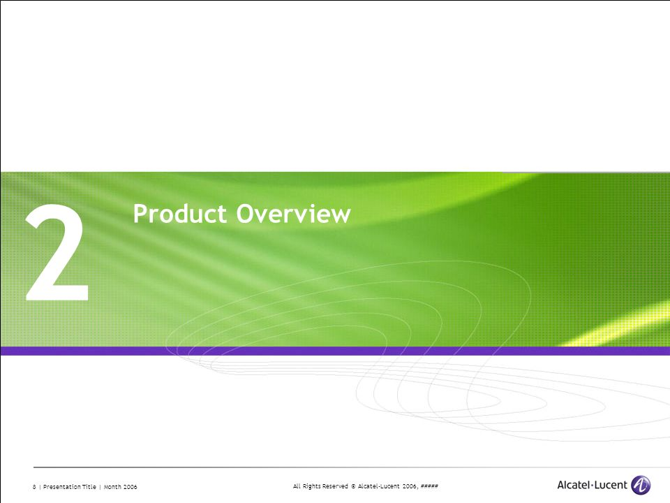 2 Product Overview Divider Section Break Pages