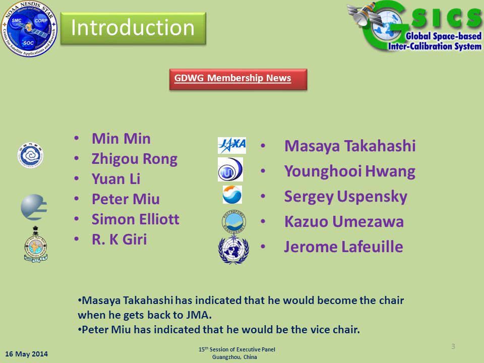 Introduction Masaya Takahashi Younghooi Hwang Sergey Uspensky