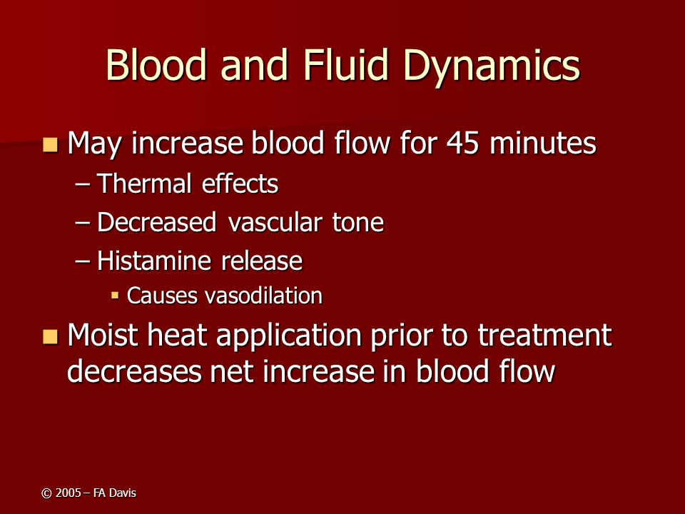 Blood and Fluid Dynamics