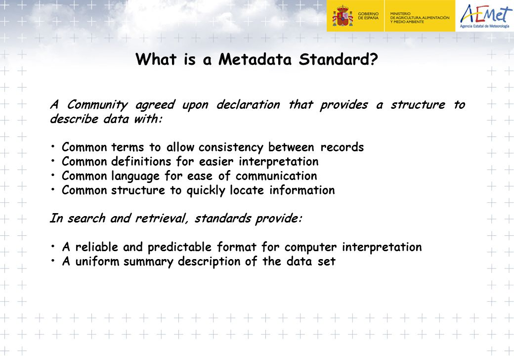 What is a Metadata Standard