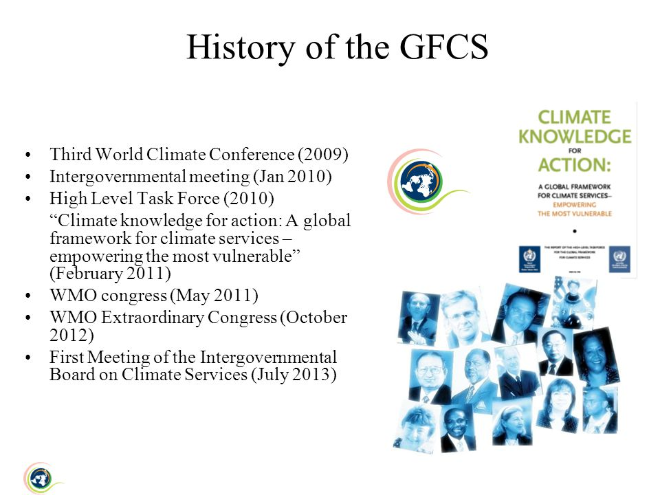 History of the GFCS Third World Climate Conference (2009)