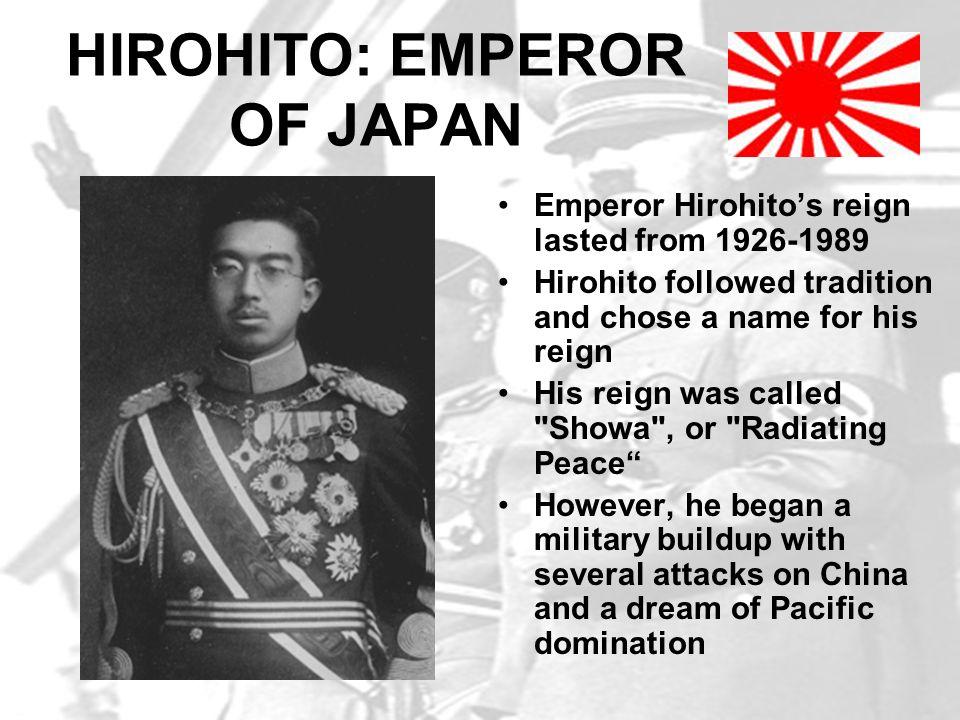 HIROHITO: EMPEROR OF JAPAN