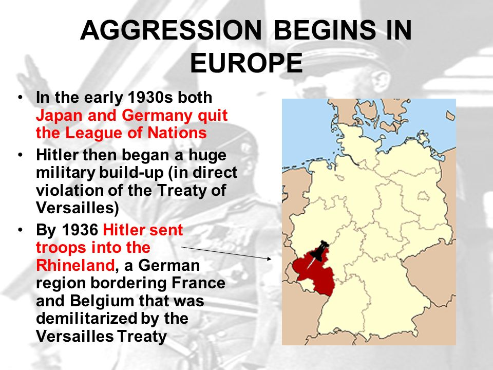 AGGRESSION BEGINS IN EUROPE
