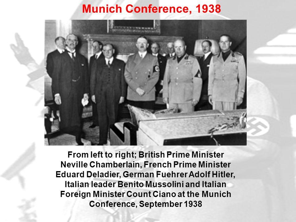 Munich Conference, 1938