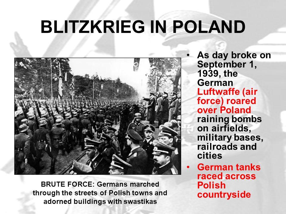 BLITZKRIEG IN POLAND