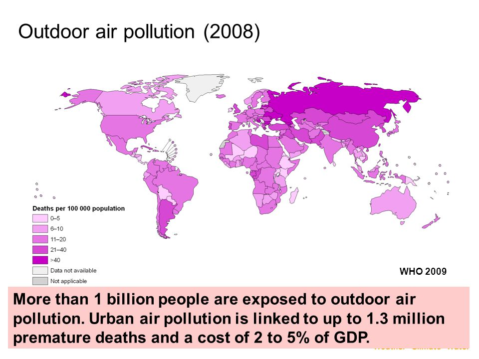 Outdoor air pollution (2008)