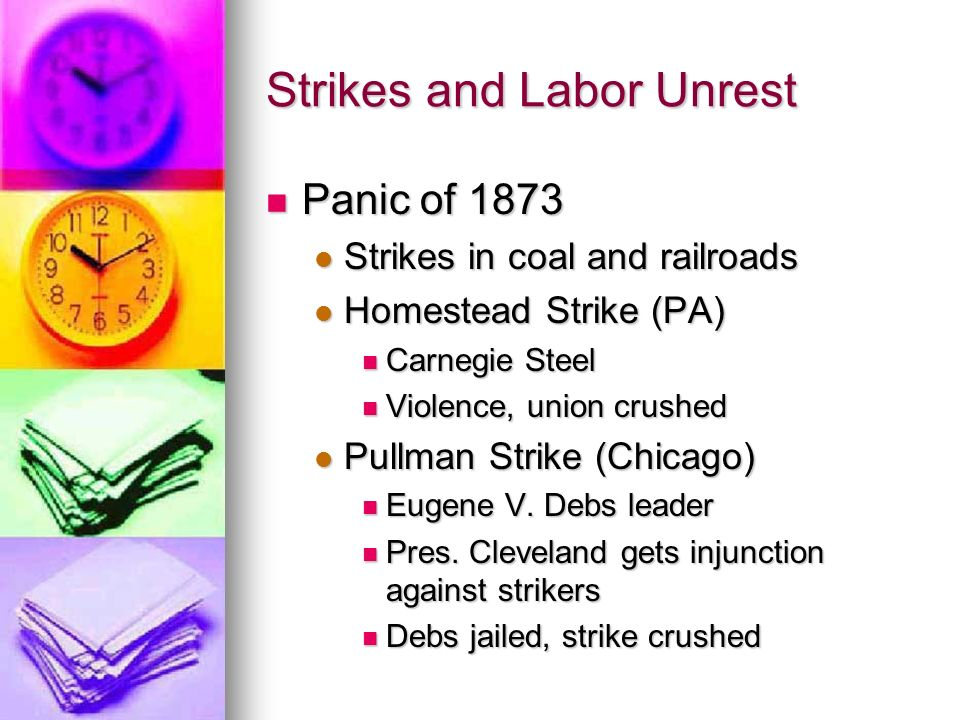 Strikes and Labor Unrest