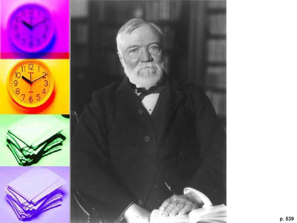 ANDREW CARNEGIE Although his contemporaries called him the world's richest man, Andrew Carnegie was careful to defl ect criticism by focusing on his philanthropic and educational activities.