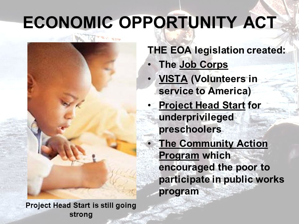 ECONOMIC OPPORTUNITY ACT