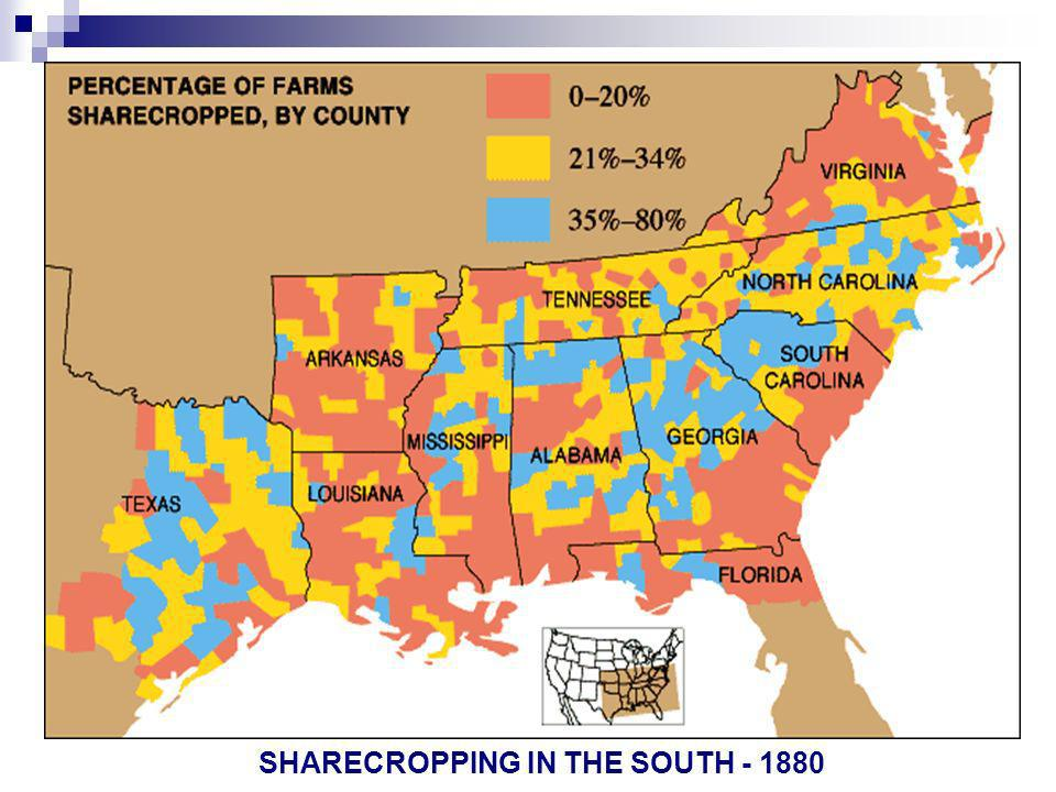 SHARECROPPING IN THE SOUTH