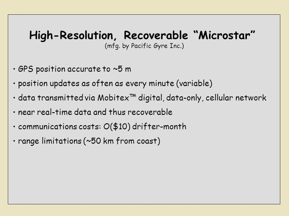 High-Resolution, Recoverable Microstar