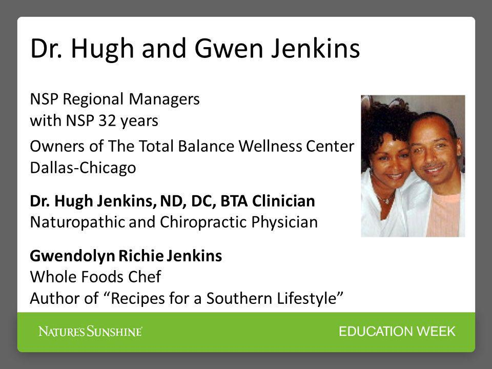 Dr. Hugh and Gwen Jenkins