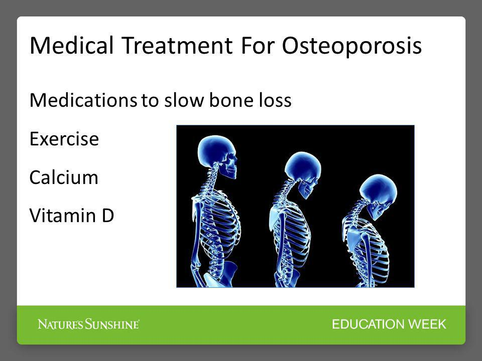 Medical Treatment For Osteoporosis