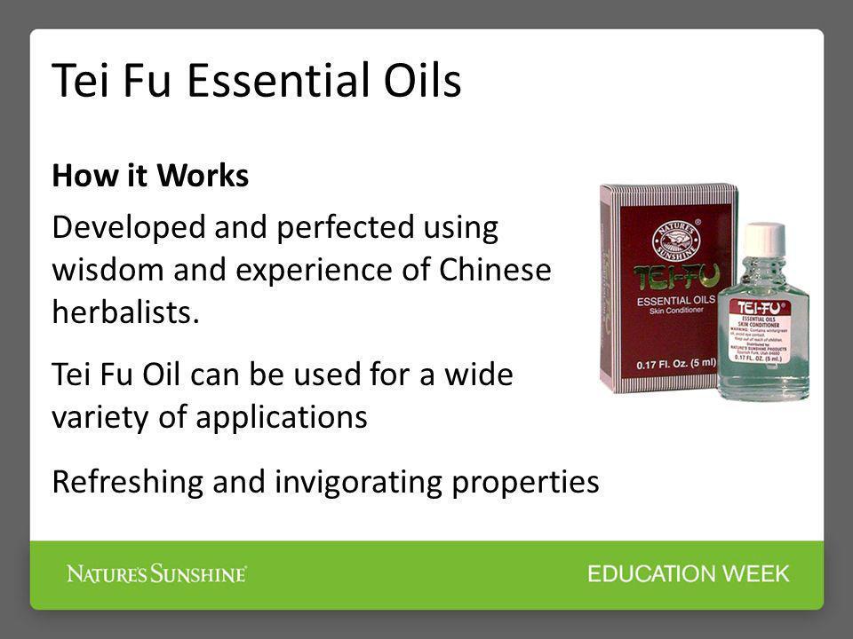 Tei Fu Essential Oils How it Works