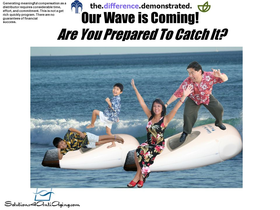 Our Wave is Coming! Are You Prepared To Catch It