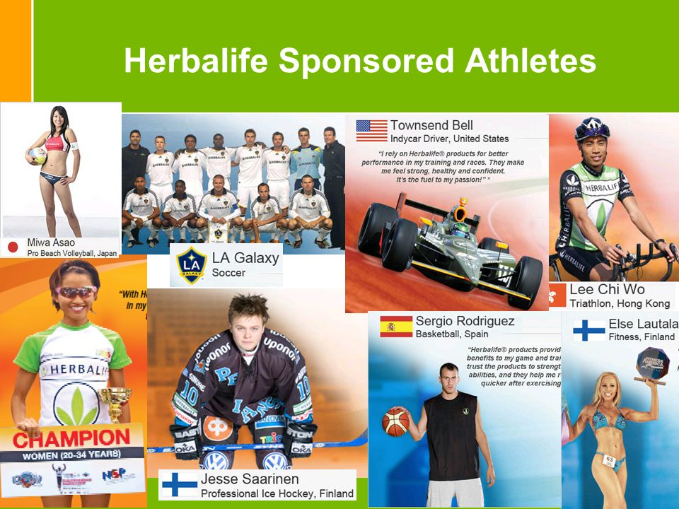Herbalife Sponsored Athletes