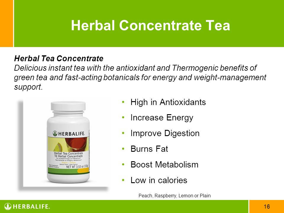 Herbal Concentrate Tea
