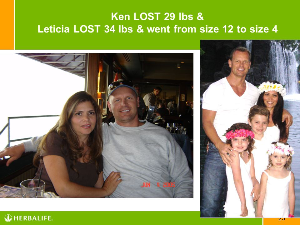 Ken LOST 29 lbs & Leticia LOST 34 lbs & went from size 12 to size 4