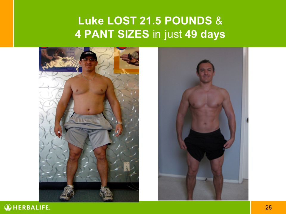 Luke LOST 21.5 POUNDS & 4 PANT SIZES in just 49 days