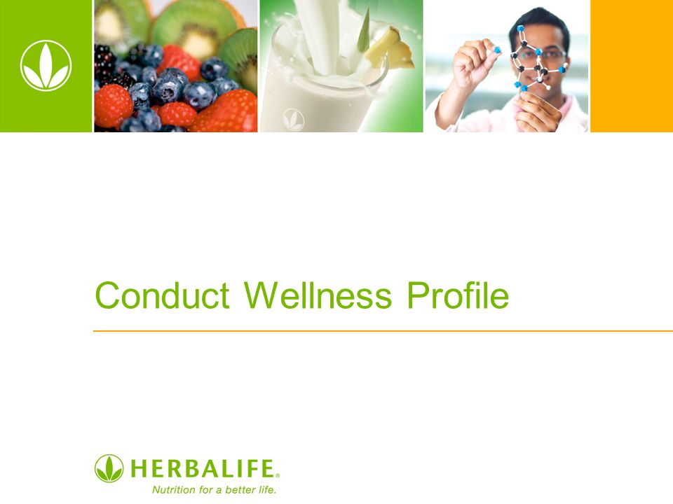 Conduct Wellness Profile