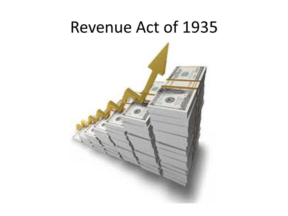 Revenue Act of 1935