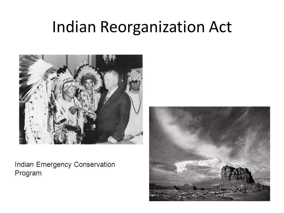 Indian Reorganization Act
