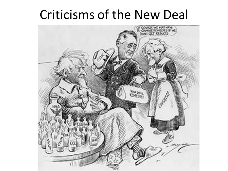 Criticisms of the New Deal