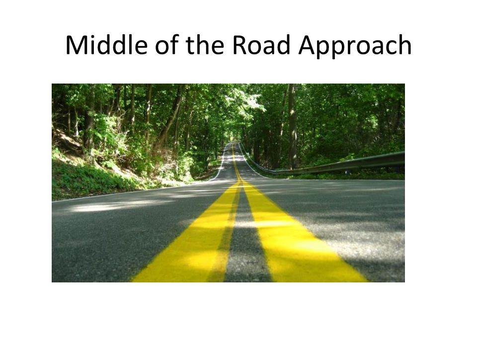 Middle of the Road Approach