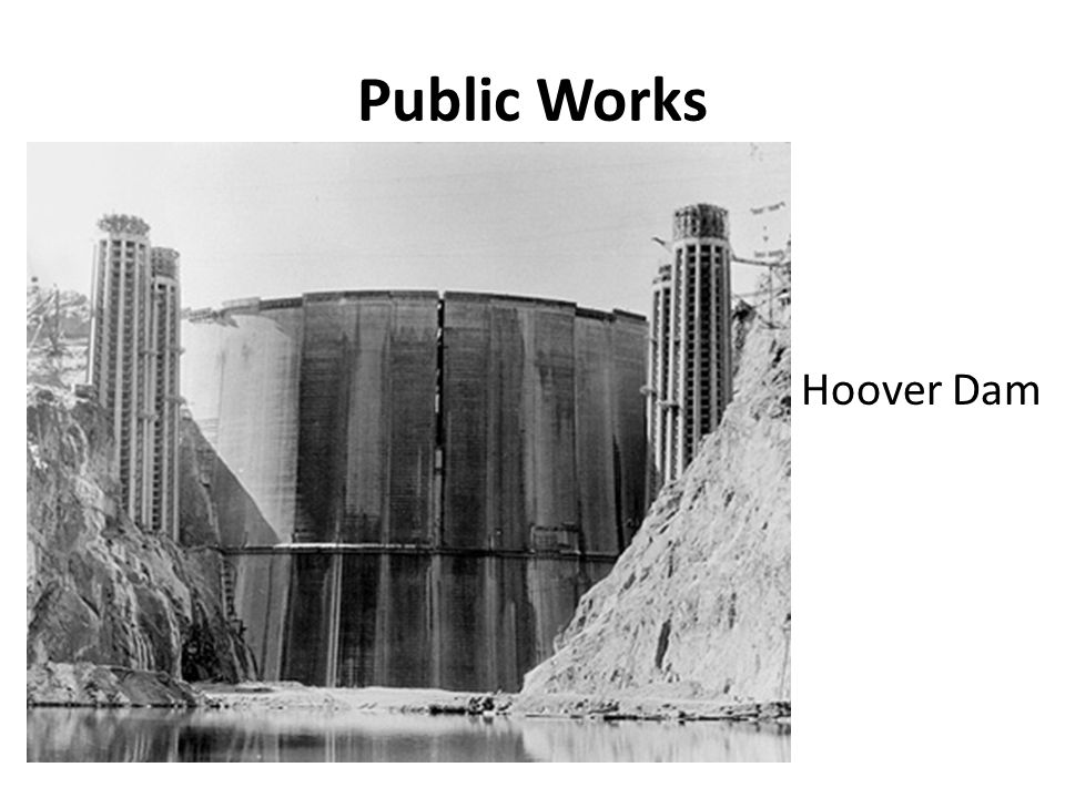 Public Works Hoover Dam
