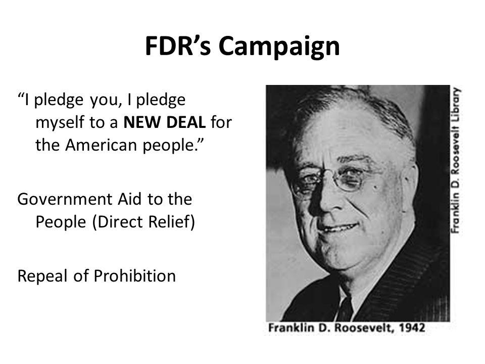 FDR's Campaign
